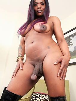 wild big dick ebony shemale