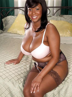 ebony lingerie models stripping