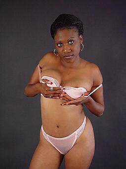 porn pictures of sexy ebony underclothes model